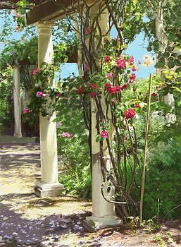 Dominique Amendola - Climbing roses