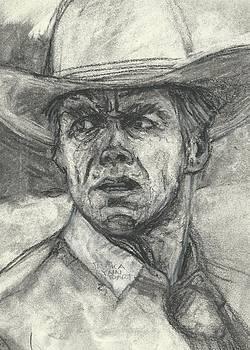 Clint Eastwood by Jessica Lynn Stuart