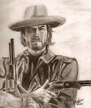 Clint Eastwood by Michael Mestas