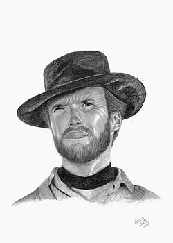 Clint Eastwood by Patricia Hiltz