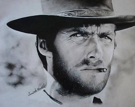 Clint Eastwood by Samantha Howell