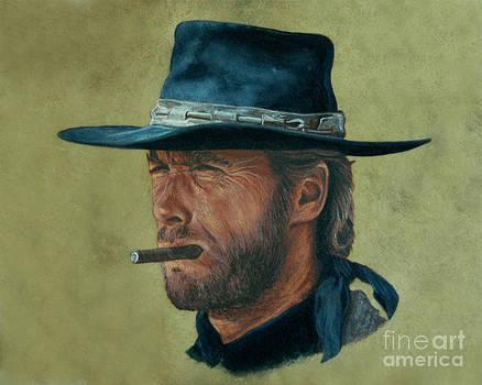 Clint Eastwood by Stu Braks