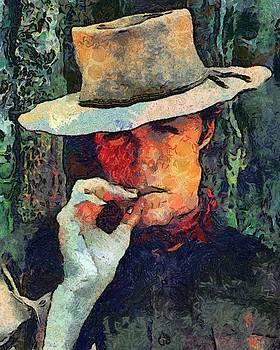 Clint Van Gogh Eastwood by Carol Sullivan