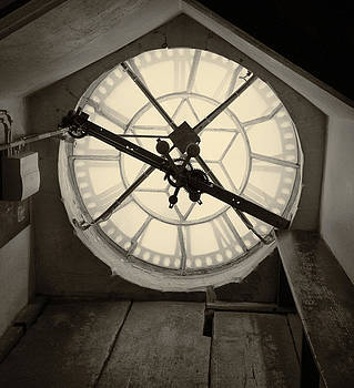 TONY GRIDER - Clock Tower in Sepia