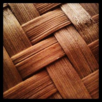 Close Up Bamboo Weave - Color by Brett Smith