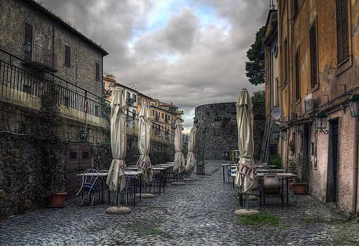 Closed Umbrellas by Leonardo Marangi