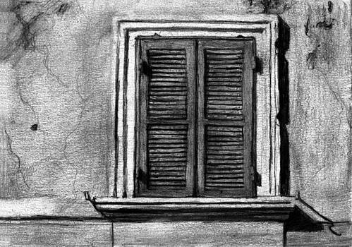 Closed Window by Di Fernandes