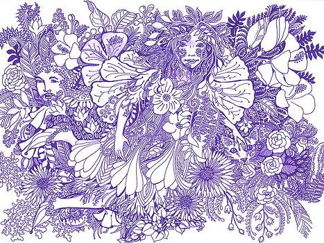 Clothed in Flowers by Sarah Kovin Snyder