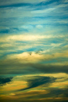 Cloud Formations at Still Pond by Eleanor Ivins