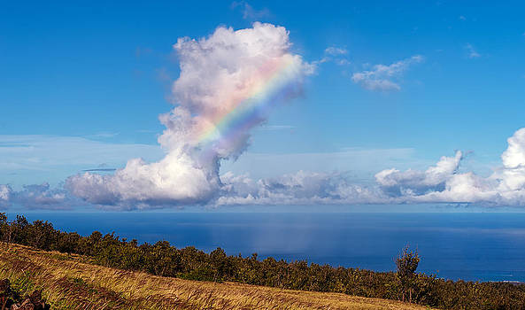Cloud with a Rainbow Tattoo by Kirk Shorte