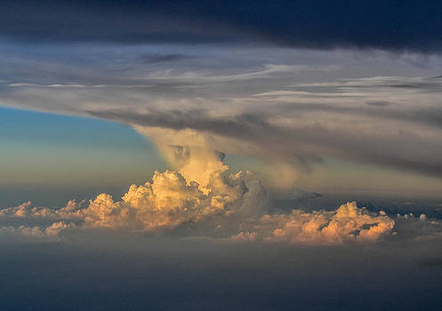 Clouds Above The Clouds by Wanda J King
