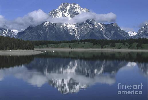 Sandra Bronstein - Clouds and Mt. Moran - Grand Teton