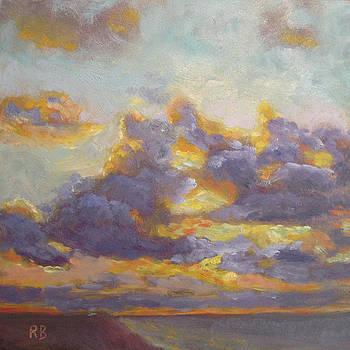 Clouds at Sea by Robie Benve