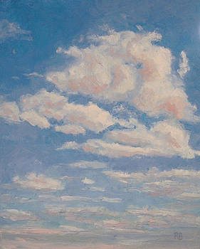 Clouds on Blue by Robie Benve