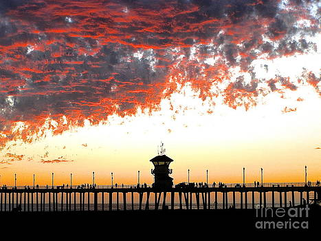 Clouds on Fire by Margie Amberge