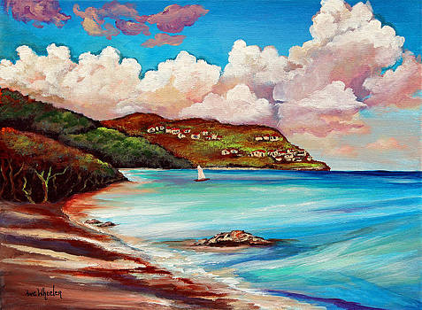 Clouds Over Paradise by Eve  Wheeler