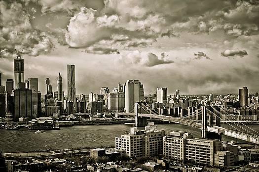 Clouds over the City by Edward Khutoretskiy