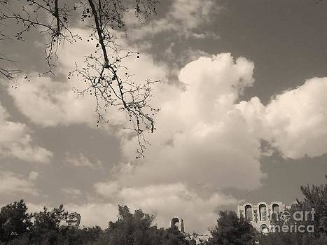 Clouds -Shapes in Black-1 by Katerina Kostaki