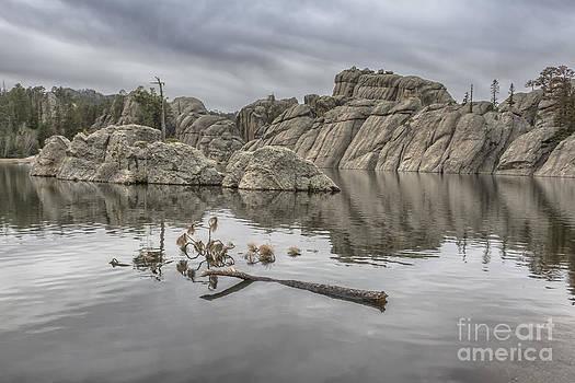 Cloudy Day at Sylvan Lake by Steve Triplett