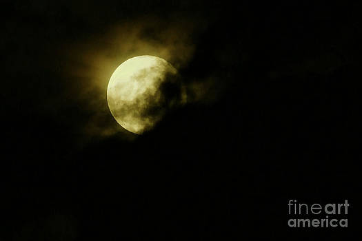 Cloudy Moon by JJ McLerran