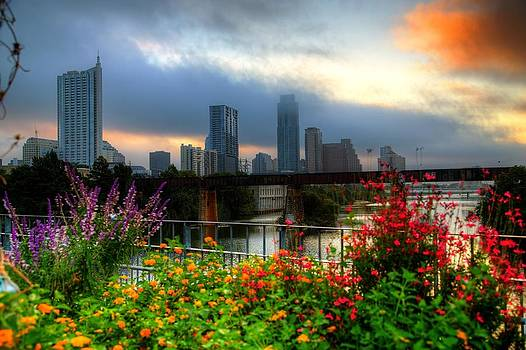 Cloudy Sunrise by Dave Files