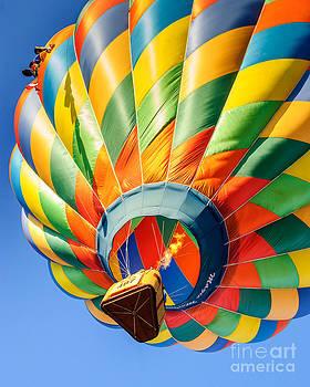 Clovis Hot Air Balloon Fest 5 by Terry Garvin