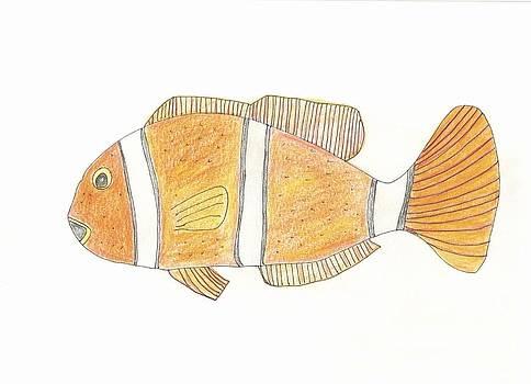 Clown Fish by Helen Holden-Gladsky