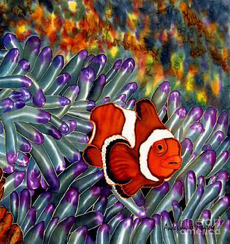 Anderson R Moore - Clown Fish In Hiding