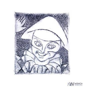 Clown by Monica Warhol