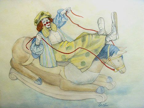 Clowning Around by Ethel Rossi