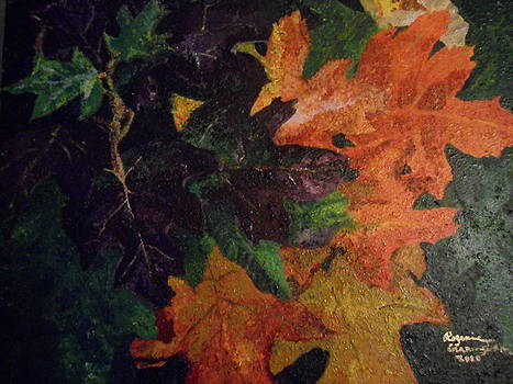 Clusters of Fall by Rozenia Cunningham