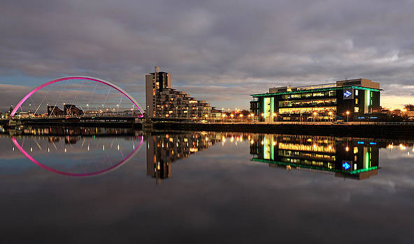Clyde Reflections by Grant Glendinning