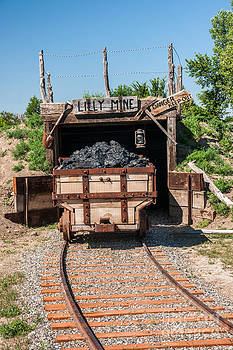 Coal Cart Leaving the Mine by Sue Smith