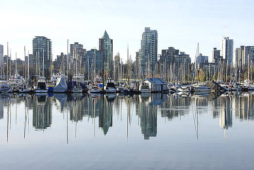 Marilyn Wilson - Coal Harbour in Vancouver BC