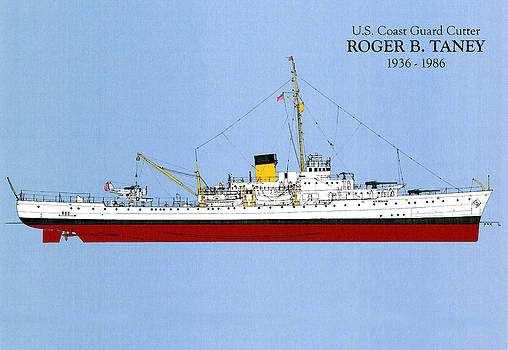 Jerry McElroy - Public Domain Image - Coast Guard Cutter Taney