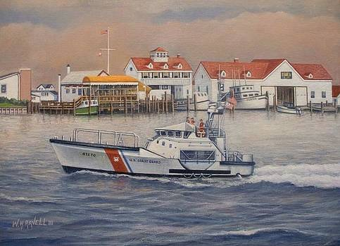 Coast Guard Station by William H RaVell III