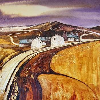 Coastal Farm by Roland Byrne
