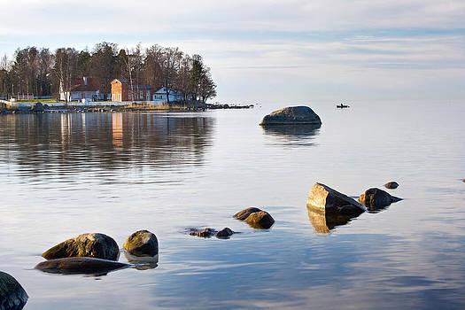 Coastal life by Anna Grigorjeva