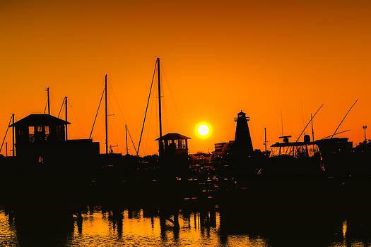 Barry Jones - Coastal Silhouette