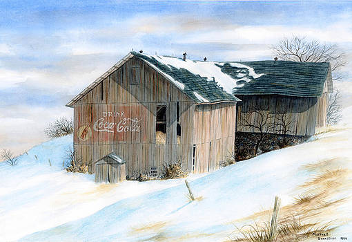 Coca Cola Barn by Marshall Bannister