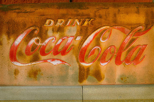 Coca Cola Grunge by Steven Bateson
