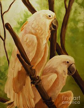 Cockatoos by Nancy Bradley