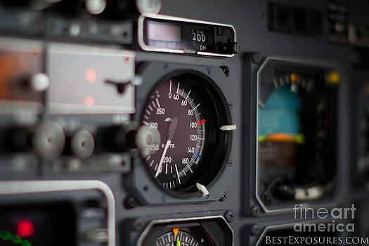 Cockpit of Piaggio by Jason Feldman