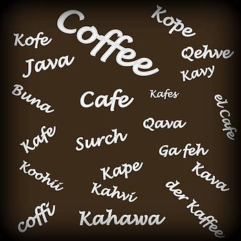 Coffee Around The World by Carolyn Repka