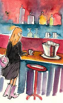 Miki De Goodaboom - Coffee Break in Colle di Val D Elsa in Italy