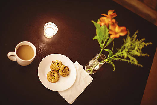 Coffee Cookies Candle by April Reppucci