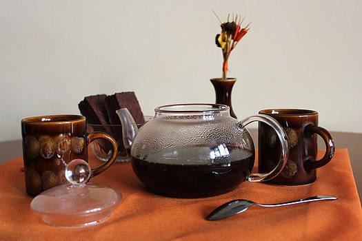 Coffee for two by Diana Dimitrova