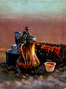 Coffee in the Desert by Ahmed Bayomi