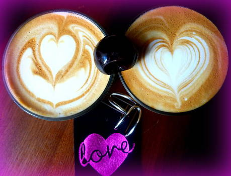 Coffee with LOVE at the ARTISAN ROAST Edinburgh by The Creative Minds Art and Photography