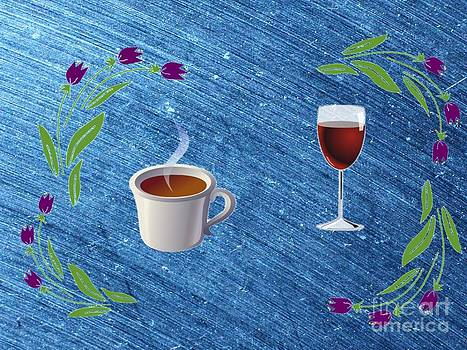Coffie or Wine by Larry Stolle